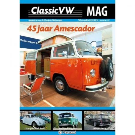 ClassicVW (Boxertje) MAGazine winter 2013-2014 (nr49). Dutch / Nederlands / Néerlandais