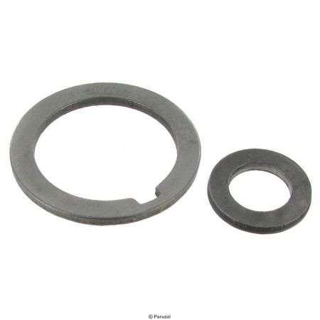 Sand seal poelie afstand ringen set; vervanger spacers voor #37 + #70 Bolt-in pulley